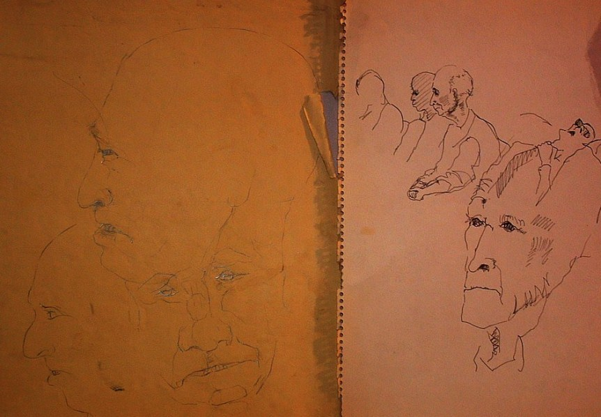 sketches from Havorford St Hospital 1969 2.jpg