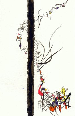 #327 19.5x15.5cm water color, ink