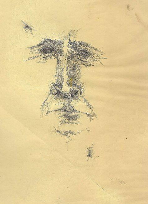 pencil clay paper 1970