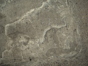 A-Space driveway concrete