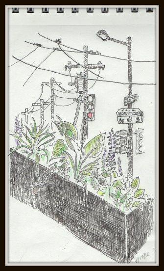 Street Sketch 49th & Balt