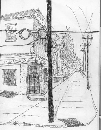 Street Skeech 53rd & Pine