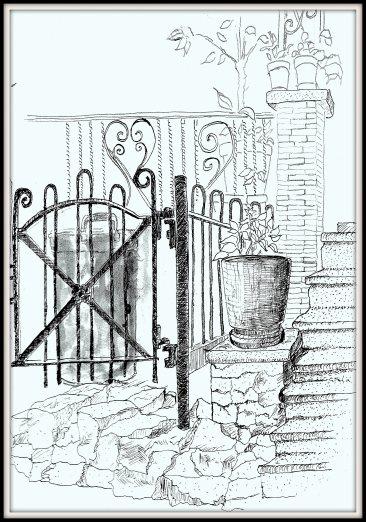 Street sketch 5345 Pine