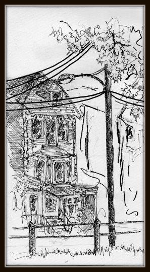 Street Sketch 51st & Pine